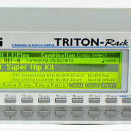 Korg Triton Expandable HI Module / Sampler Synthesizer Rack with Power Supply
