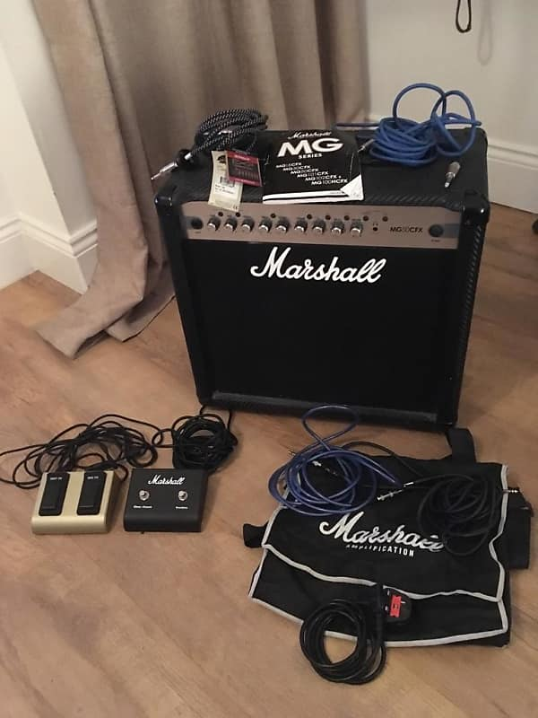 marshall mg50cfx 1x12 50w guitar combo ethan 39 s gear reverb. Black Bedroom Furniture Sets. Home Design Ideas