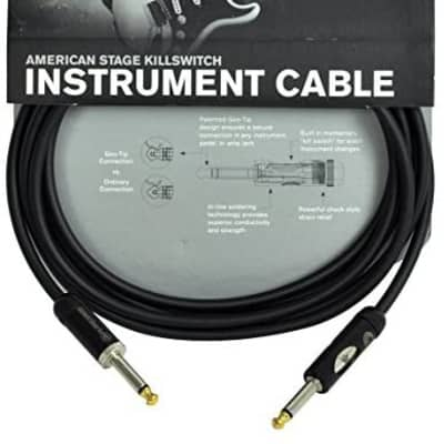 Cable - American Stage Kill Switch 10' Patch Cord PW-AMSK-10