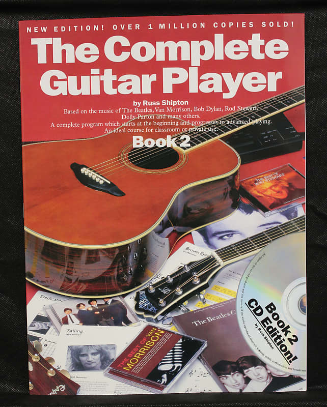 the complete guitar player guitar method book 2 reverb