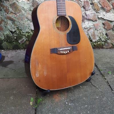 Vintage Jumbo Acoustic Guitar  Angelica 1960s Japan for sale