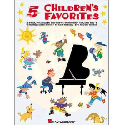 Children's Favorites - Five-Finger Piano