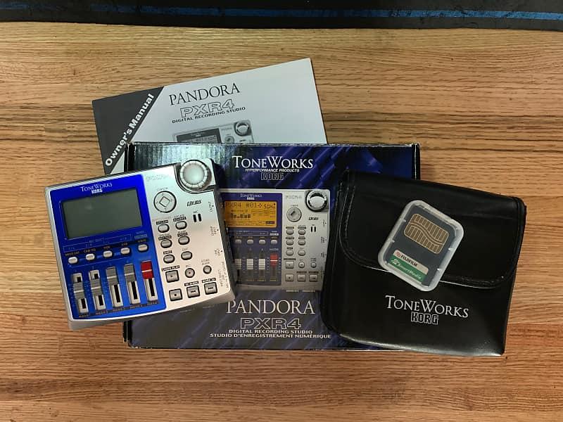 Korg pandora pxr4 portable 4-track recorder/fx processor catawiki.