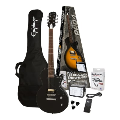 PRO-1 LES PAUL Junior PACK Ebony Epiphone for sale