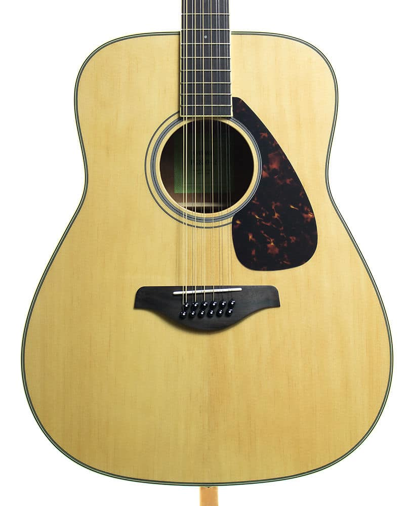 Yamaha fg820 12 12 string acoustic guitar reverb for Yamaha fg820 review
