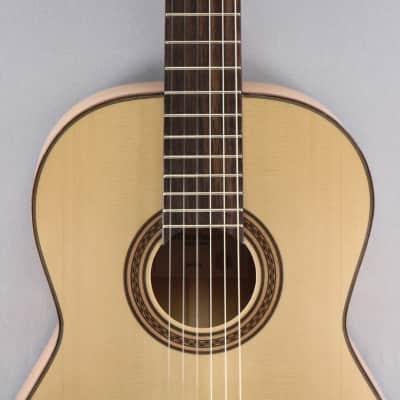 La Mancha Amber Linkshand Flamencogitarre for sale