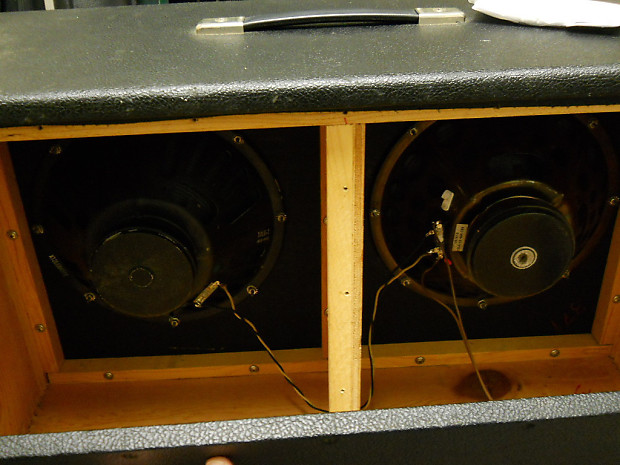 Fender Blackface Bandmaster 2x12 Guitar Speaker Cabinet