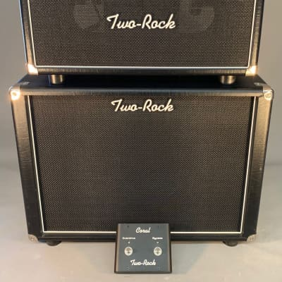 USED! Two-Rock Coral 22W Head and Cabinet Electric Guitar Amplifier! Creamback! for sale
