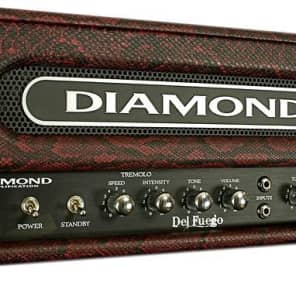 Diamond Amplification Del Fuego USA  22W Tube Guitar Amp Head for sale