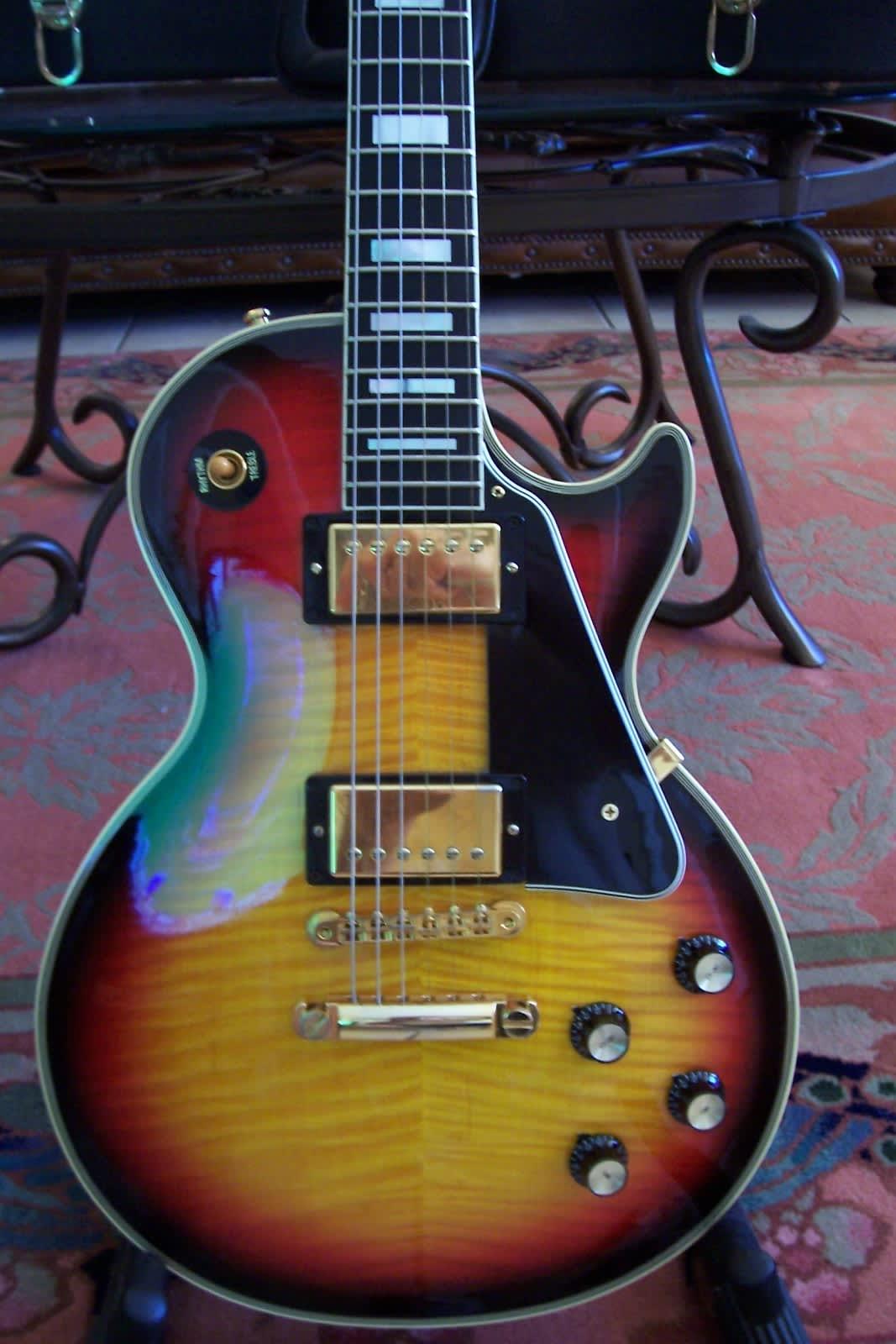 Gibson 2006 Les Paul Custom 68 Reissue Tri Burst Reverb