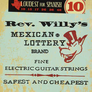 Dunlop RWN1046 Icon Series Reverend Willy's Signature Electric Guitar Strings - Medium (10-46)