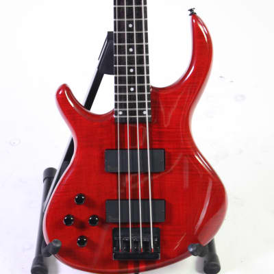 Used Tobias TOBY PRO 4 TRANS RED LEFTY Bass Guitars Red for sale