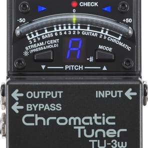 Boss TU-3W Chromatic Tuner Waza Craft for sale
