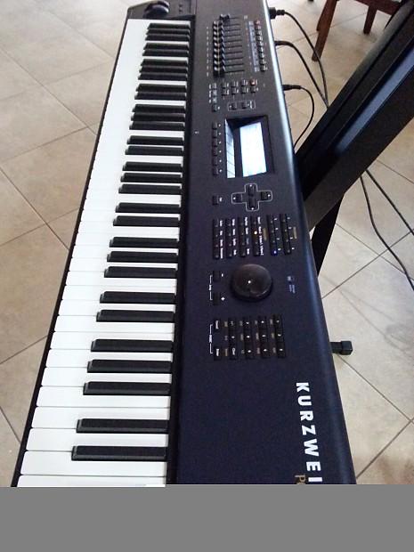 kurzweil pc3 76 keys semi weighted portable keyboard reverb. Black Bedroom Furniture Sets. Home Design Ideas