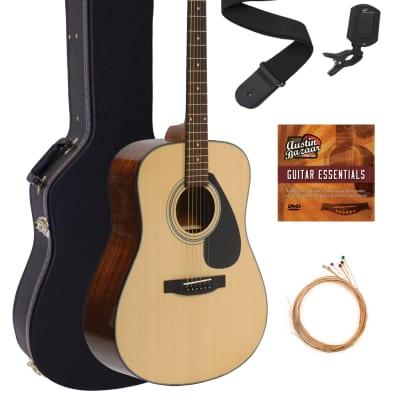 Yamaha F325D Dreadnought Acoustic Guitar - Natural w/ Hard Case