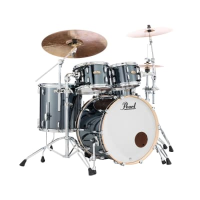 Pearl Session Studio Select Series 4pc Shell Pack Black Chrome - STS924XSP/C766