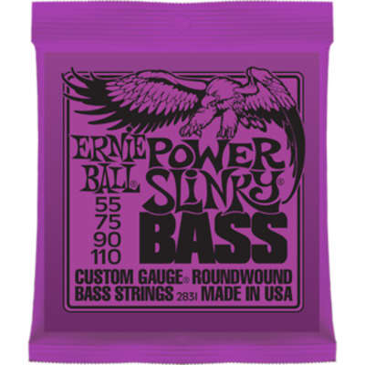 Ernie Ball Power Slinky Bass Strings 55-110