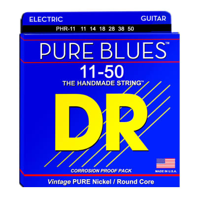 DR Strings PHR-11 Pure Blues Heavy Electric Guitar Strings