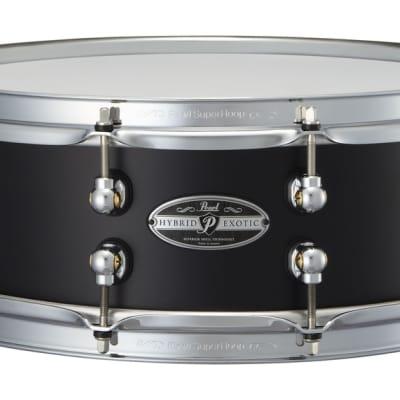"Pearl HEAL1450 Hybrid Exotic 14x5"" Cast Aluminum Snare Drum"
