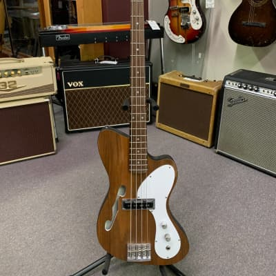 Dinette Custom Semi-Hollow Bass 2000s Natural/Formica for sale