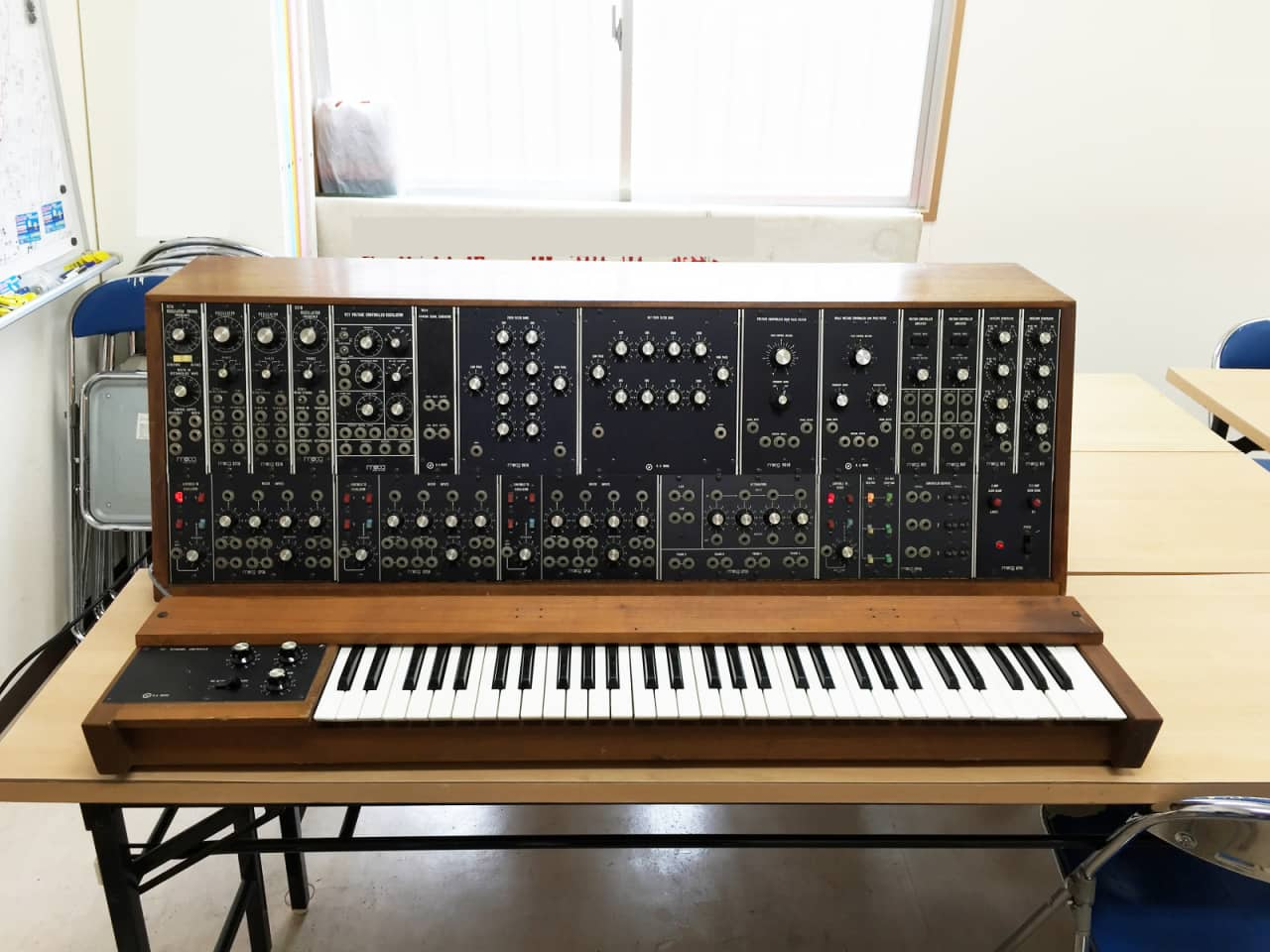moog system 35a modular synth with 951 keyboard controller reverb. Black Bedroom Furniture Sets. Home Design Ideas