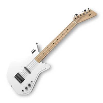 Loog Pro VI Electric Guitar White w/ built-in amp LGPRVIEW for sale