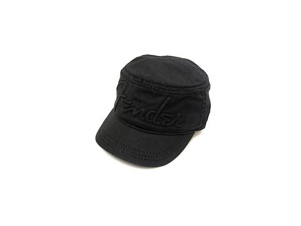 8ca733d3034 Fender Legion Military Style Hat Corduroy Logo Black SML MED