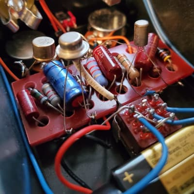 Fuzz-n-Bean Tonebender MK1  Point To Point NOS COMPONENTS