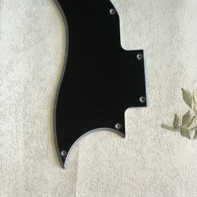 For 5 Ply Gibson SG Special 2018 OD mini humbuckers Guitar Pickguard,Black