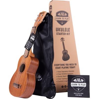 Kala Learn to Play Ukelele Starter Kit soprano starter set for sale