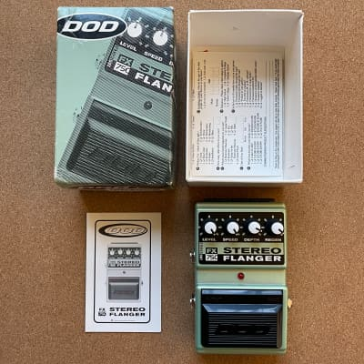 DOD FX75C Stereo Flanger (Made in USA)
