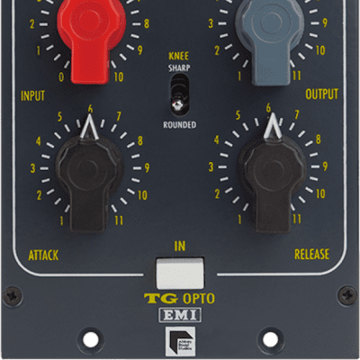 New Chandler Limited TG Opto, Mono Compressor, Non-Linkable/Matching, EMI/Abbey Road Studios