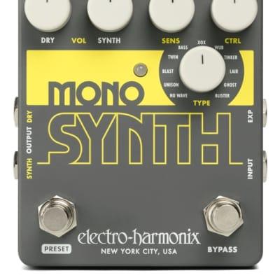 Electro Harmonix Mono Synth Guitar Pedal for sale