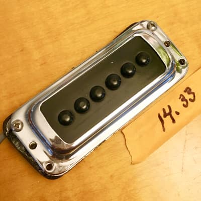 Rickenbacker Toaster high gain dearmond rowe pickup c 1967