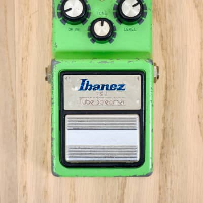 1982 Ibanez TS9 Tube Screamer Overdrive Vintage Guitar Effect Pedal for sale