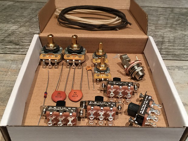 Fender Jaguar Usa Premium Upgrade Wiring Kit