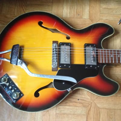 70's Burns Hollowbody ES Falcon style Japan for sale