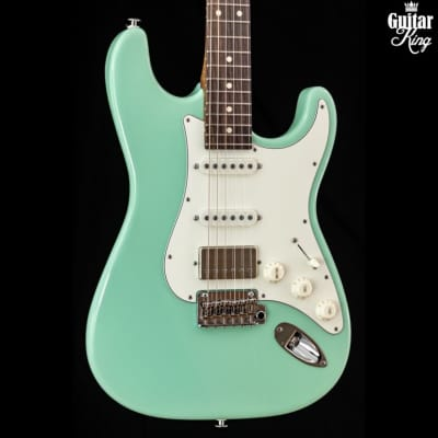 Suhr Classic S Flamed Roasted Ltd Surf Green HSS RW