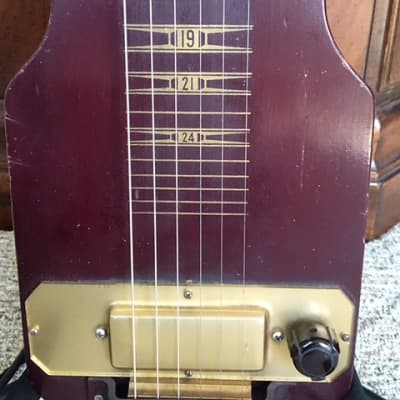 Local NH/MA pickup - Kalamazoo by Gibson Vintage Lap Steel w/original case for sale