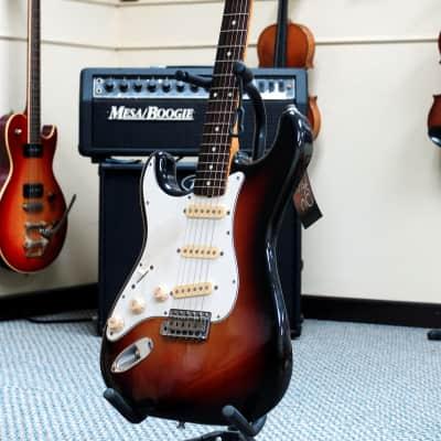 Fender ST-62 Lefty 1994 3-Tone Burst for sale