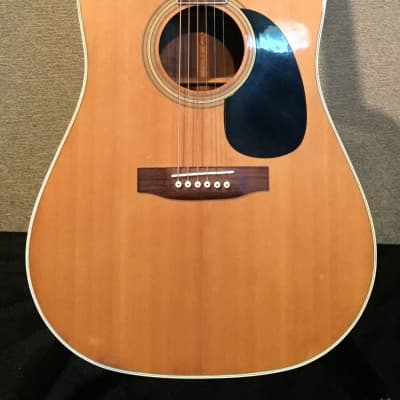 Sigma DR-7 Acoustic 1970's Natural for sale
