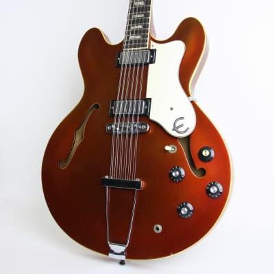 1966 Epiphone E360TDC-12 Riviera Sparkling Burgundy Metallic for sale
