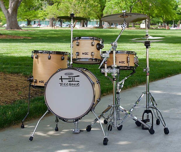 TreeHouse Custom Drums 4 Piece Floor Tom Conversion Drumset 10 13 16 12