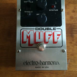 Electro-Harmonix Double Muff Fuzz / Overdrive Pedal
