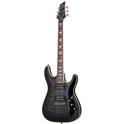 Schecter Omen Extreme-6 See-Thru Black (STBLK) 2025 Electric Guitar for sale