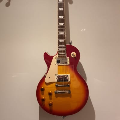Epiphone Les paul standard plus pro top jimmy page wiring Cherry Sunburst Lots of Extras for sale