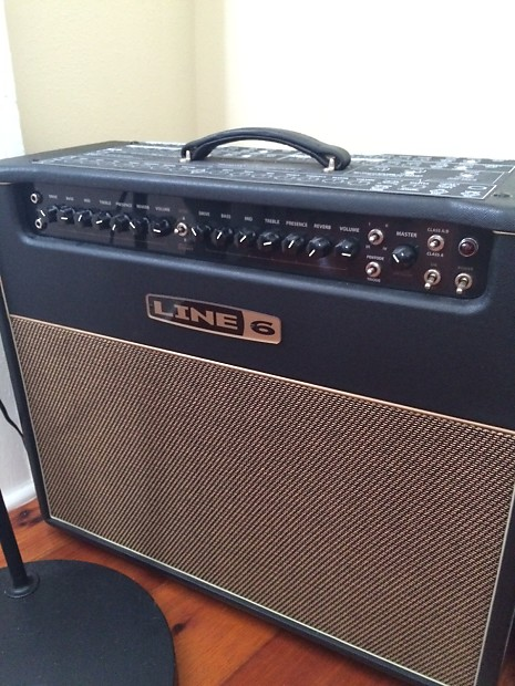 line 6 bogner dt50 212 tube combo guitar amp amplifier 2x12 reverb. Black Bedroom Furniture Sets. Home Design Ideas
