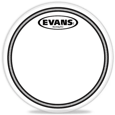 """Evans TT08MEC2S Marching EC2S Tenor Drum Head - 8"""""""