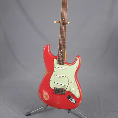 Fender Relic '60 Stratocaster  Faded Dakota Red for sale