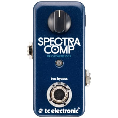 TC Electronic SpectraComp Bass Compressor effects pedal for sale
